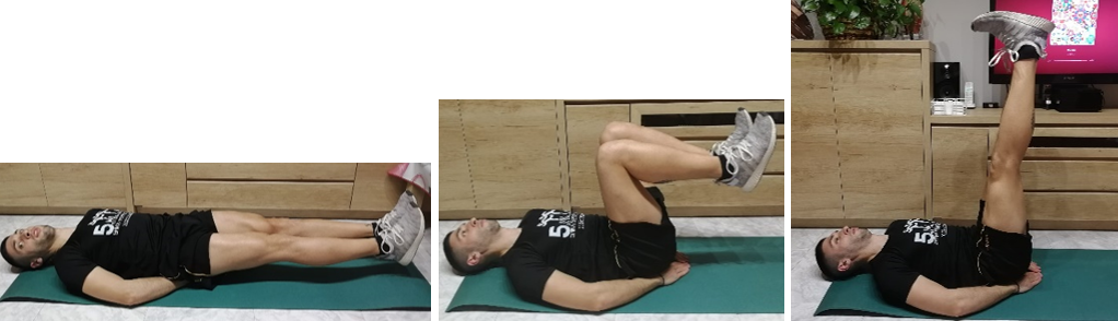 ejercicio de abdominales
